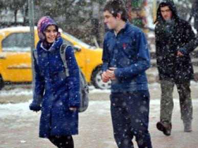 10 ilde okullar kar nedeniyle tatil