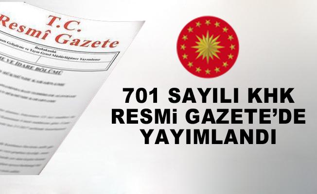 701 sayılı KHK ile 18 bin kişi ihraç edildi