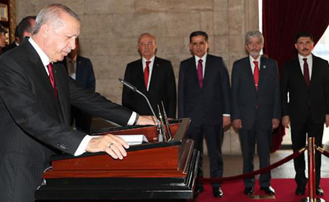 Başkan Erdoğan, Anıtkabir'de