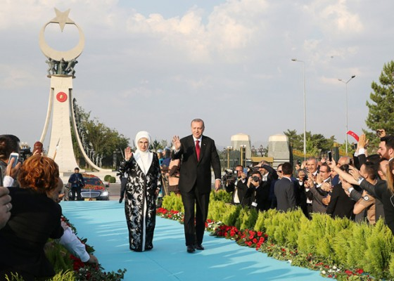 Emine Erdoğan, Cumhurbaşkanlığı Göreve Başlama Töreninde