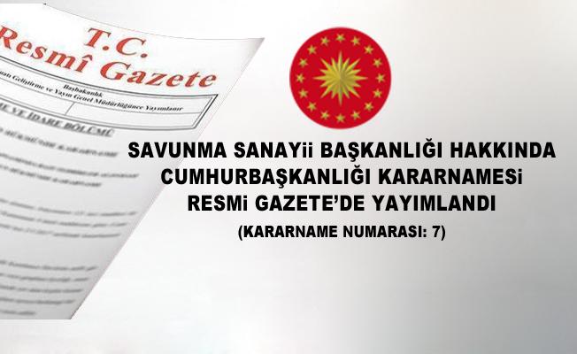 SSB'nin görev, yetki ve sorumlulukları belirlendi