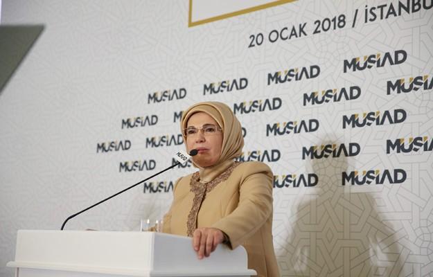 Emine Erdoğan, İslam hayırda yarışmayı öğütler