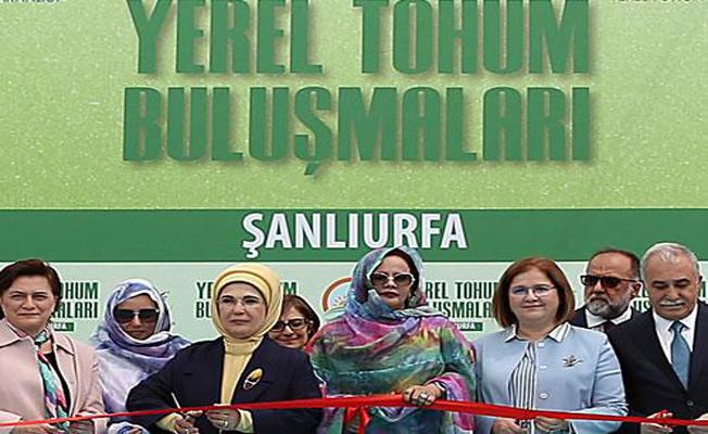 Emine Erdoğan, yerel tohum millî bir servet
