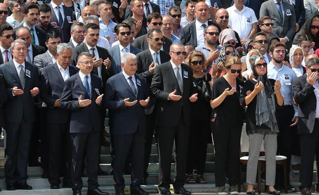 Erdoğan, Niğde Milletvekili Göksel'in cenaze törenine katıldı