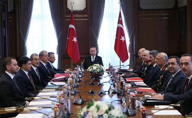 SSİK, Cumhurbaşkanı Erdoğan başkanlığında toplandı