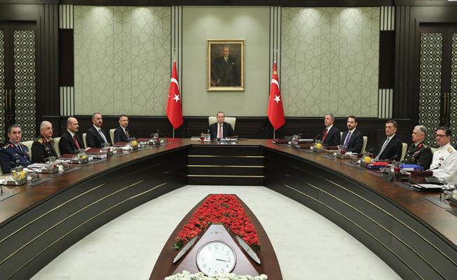 Yüksek Askerî Şûra, Erdoğan başkanlığında toplandı