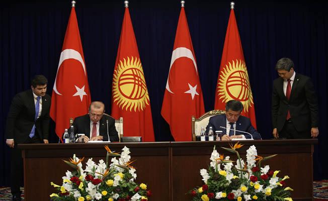 Deneyimlerimizle her zaman Kırgızistan'ın yanında olacağız