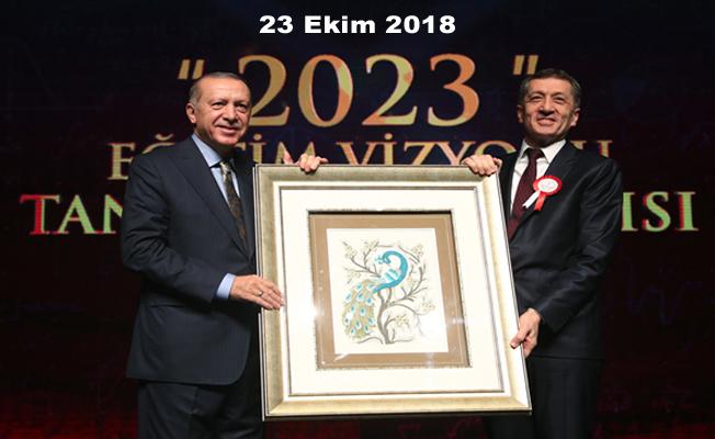 2023 EĞİTİM VİZYONU AÇIKLANDI