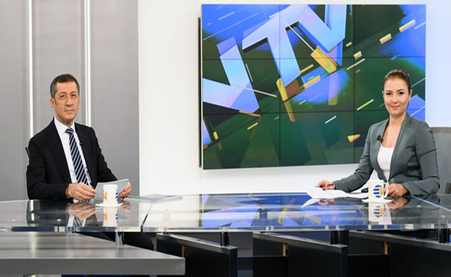 Bakan Selçuk, NTV'ye konuk oldu