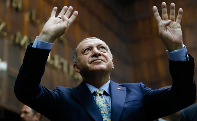 Başkan Erdoğan, AK Parti Grup Toplantısına katıldı.