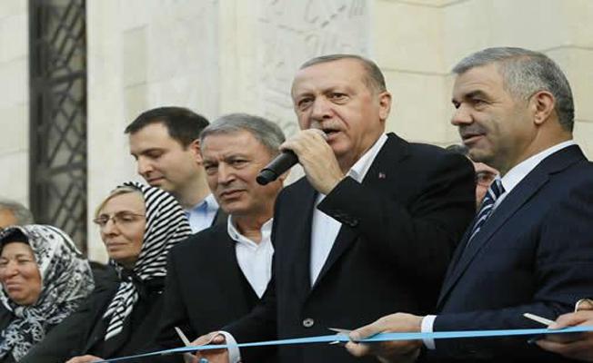 Orgeneral Hulusi Akar Cami ve Külliyesinin açılış törenine katıldı