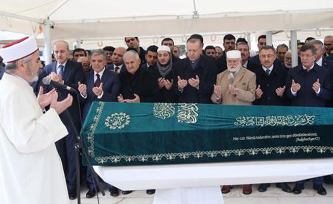 Erdoğan, Abdullah Tivnikli'nin cenaze törenine katıldı