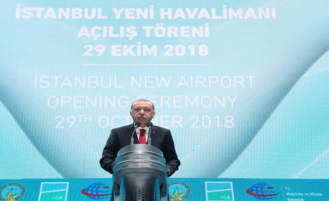 İstanbul Havalimanı ülkemizin yüz akı