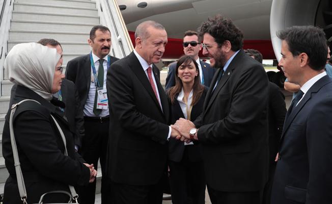 Türkiye Cumhurbaşkanı Erdoğan Arjantin'de