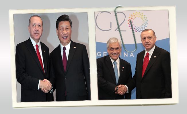 Cumhurbaşkanı Erdoğan, Dünya liderleri ile bir araya geldi