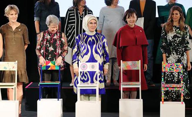 Emine Erdoğan, Arjantin'de MALBA Müzesi'ni ziyaret etti
