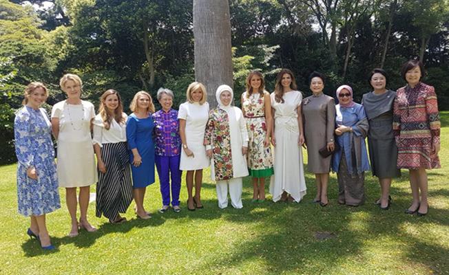 Emine Erdoğan, G20 Liderler Zirvesi resmî eş programına katıldı