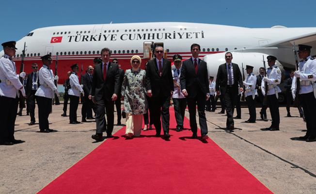 Erdoğan Paraguay'da