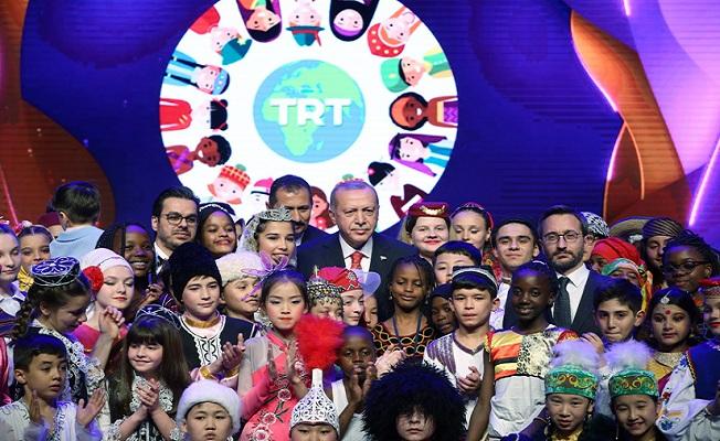 23 Nisan gala programında çocuklara seslendi