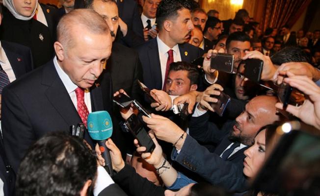 Erdoğan, TBMM'de 23 Nisan resepsiyonuna katıldı