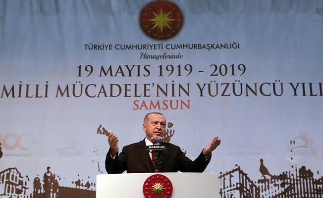 Bizim kızılelmamız büyük ve güçlü Türkiye'nin inşasıdır