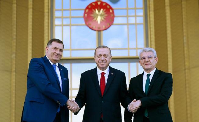 Bosna-Hersek Devlet Başkanlığı Konseyi Başkanı Milorad Dodik Türkiye'de