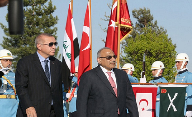 Irak Başbakanı Abdülmehdi Cumhurbaşkanlığı Külliyesinde