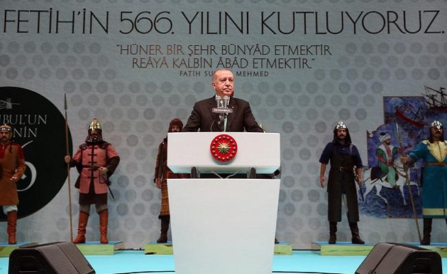 İstanbul'un Fethi'nin 566'ncı yılı kutlamaları