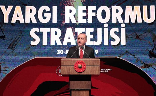 Yargı Reformu Stratejisi Belgesi'ni açıkladı