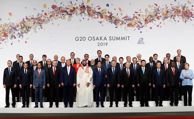 G-20 Liderler Zirvesi Japonya'da başladı