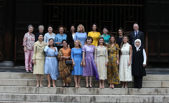 G-20 Liderler Zirvesi'nin resmî eş programına katıldı