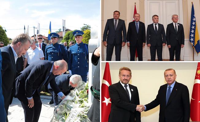Bosna Hersek'te önemli temaslar
