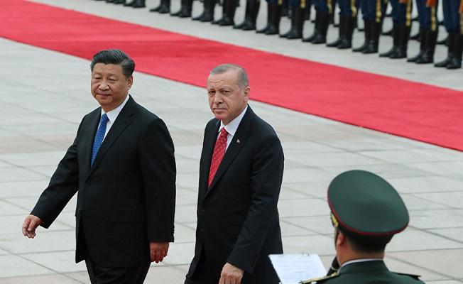 Erdoğan, Çin Halk Cumhuriyeti'nde