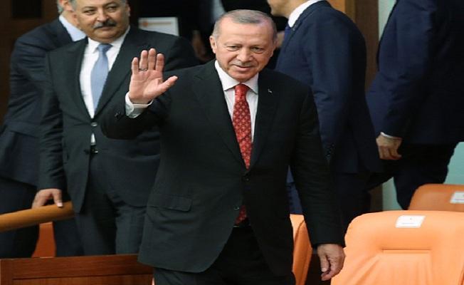Erdoğan, TBMM Genel Kurulu'nda