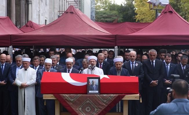 Başkan Erdoğan, Prof. Dr. Dursun'un cenaze törenine katıldı