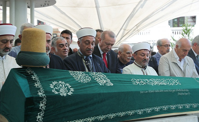 Başkan Erdoğan, Prof. Dr. Emin Işık'ın cenaze törenine katıldı