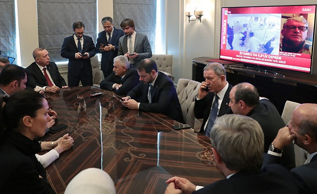 Başkan, ABD ziyaretinin ardından basın toplantısı düzenledi