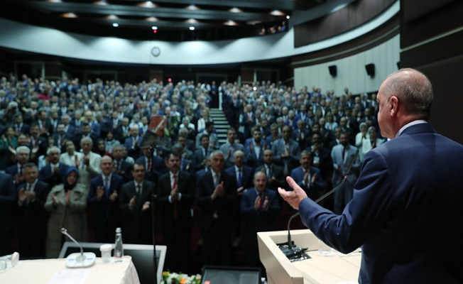 AK Parti Genişletilmiş İl Başkanları Toplantısı'na katıldı