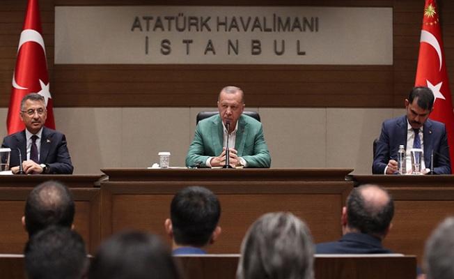 Başkan Erdoğan ABD'ye gitti