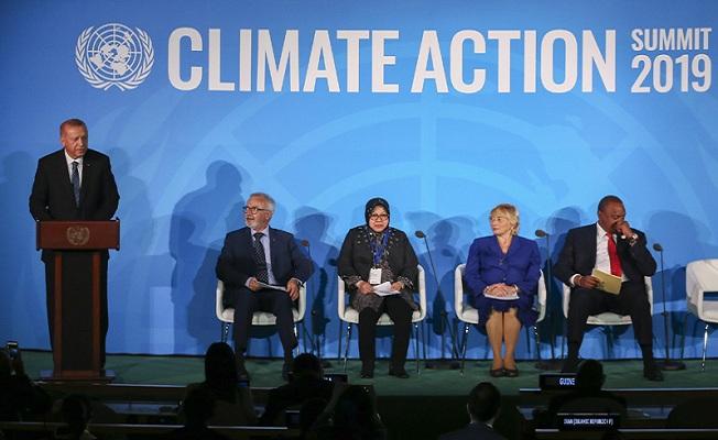 BM İklim Eylemi Zirvesi'ne katıldı