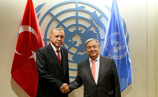 Cumhurbaşkanı Erdoğan dünya liderleriyle görüştü!