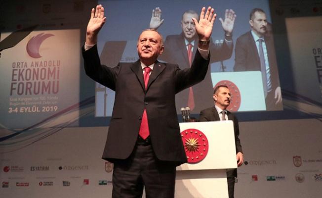 Erdoğan, Orta Anadolu Ekonomi Forumu'nda