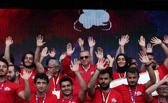 Erdoğan TEKNOFEST İstanbul'da