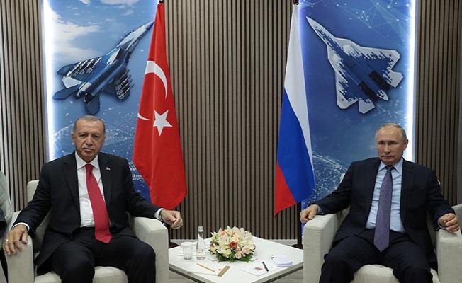 Rusya Devlet Başkanı Putin ile görüştü