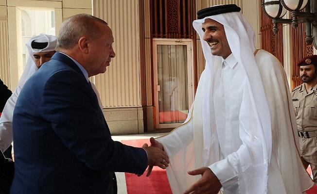 Başkan Erdoğan Katar'da