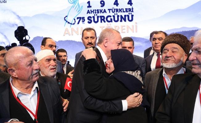 Sürgünün 75. Yılında Ahıska Türkleri Anma Programı'na katıldı