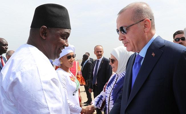 Başkan Erdoğan'dan Gambiya'da önemli açıklamalar