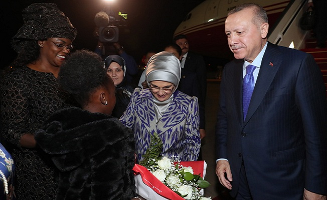 Başkan Erdoğan Senegal'de