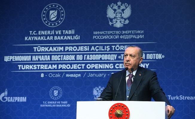 Başkan Erdoğan ve Putin TürkAkımı Projesinin Açılışını Yaptı