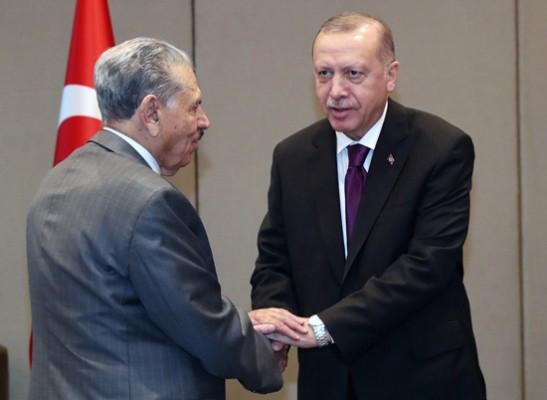 Erdoğan, Cezayir Millet Konseyi Başkanı Goudjil'i kabul etti